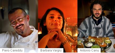 Piero Careddu, Barbara Vargiu, Antonio Canu